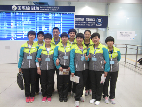 第13期生入国・関西空港