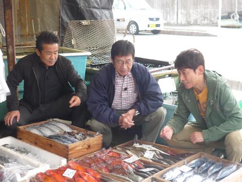 三ツ木さん・村野さん・渡嘉敷さん 魚まち訪問