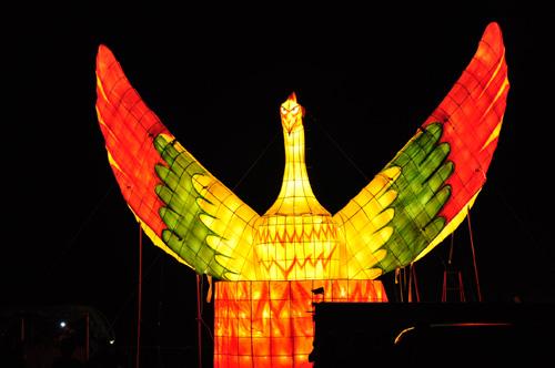 2011きほく燈籠祭-大燈籠「火の鳥」